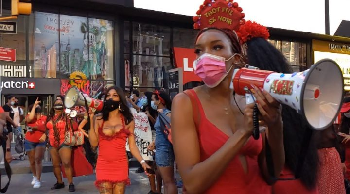 Black Sex Worker Liberation March: Scenes from the Largest Protest for Sex Worker Rights in American History